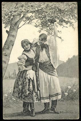 Szatmári népviselet 1909.