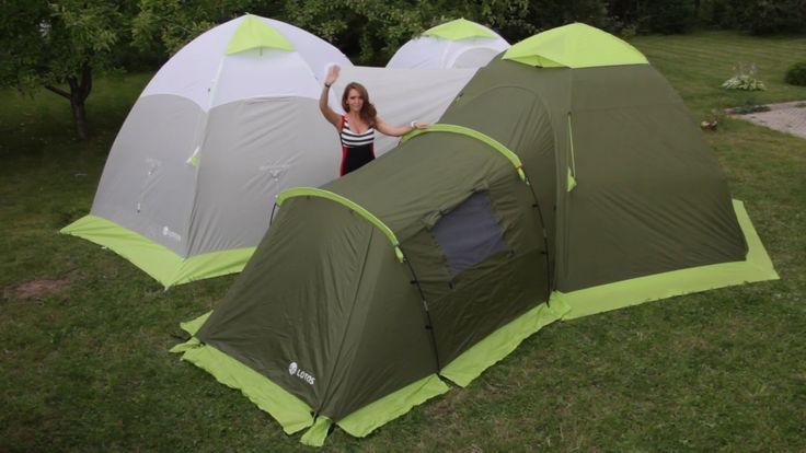 Модульные палатки «ЛОТОС Универсал» для зимы и лета. Быстрая установка и...