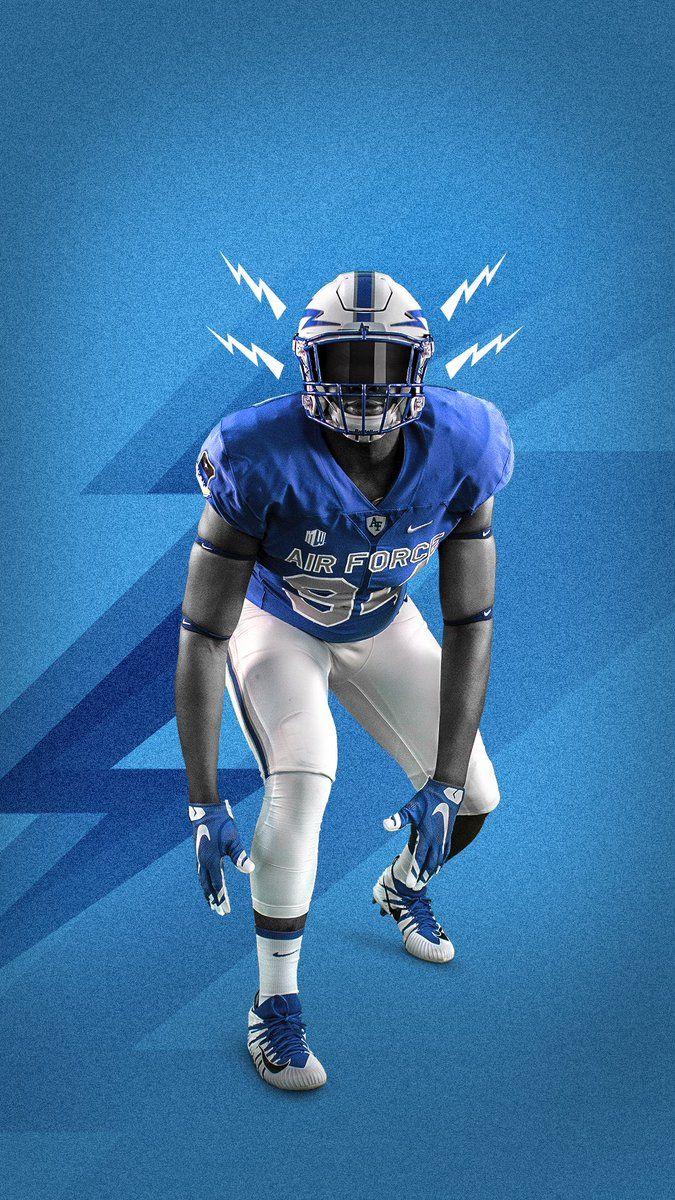 Air Force Football Helmets Football Sports Design