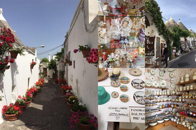 南イタリアの世界遺産物件アルベロベッロとマテーラあなたならどっちで撮影するSaori Masuda)