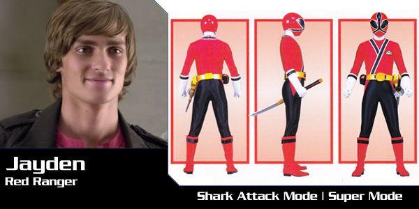 Jayden Shiba (Red Samurai Ranger) - Power Rangers Samurai | Power Rangers Central