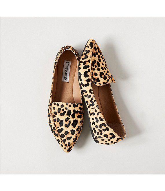 dillards animal print shoes