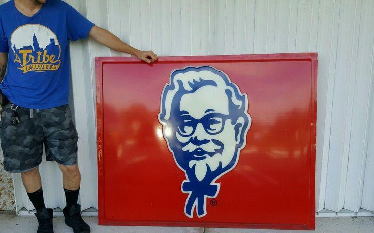 "KFC ""Colonel Sanders"" large sign"
