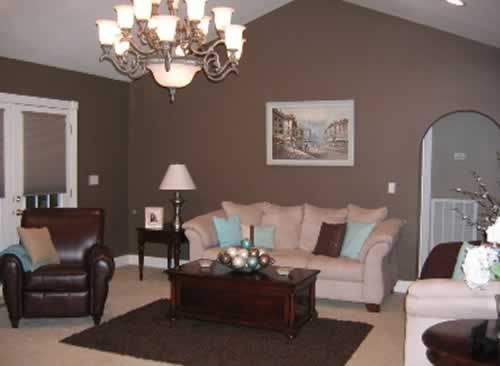 The Neutral Color Is The Gray Walls, And The White Ceiling, With The White  Colored Couch. Part 56