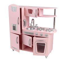 KidKraft Vintage Kitchen Set - Pink. My friend had a pink cardboard version back in the day. Man I loved that playset!