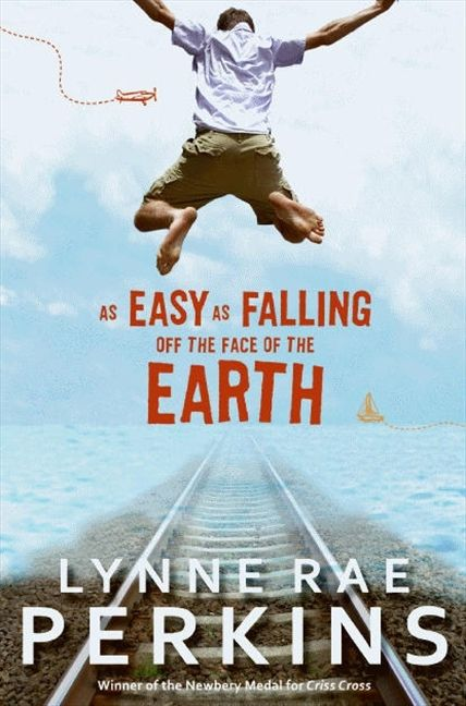 As Easy As Falling Off The Face Off The Earth by Lynne Rae Perkins.  Train. Car. Plane. Boat. Feet. He'll get there. Won't he?