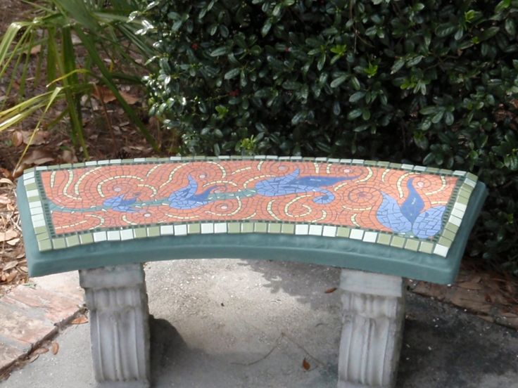 1004 Best Images About Mosaic Chairs Benches And Stools On