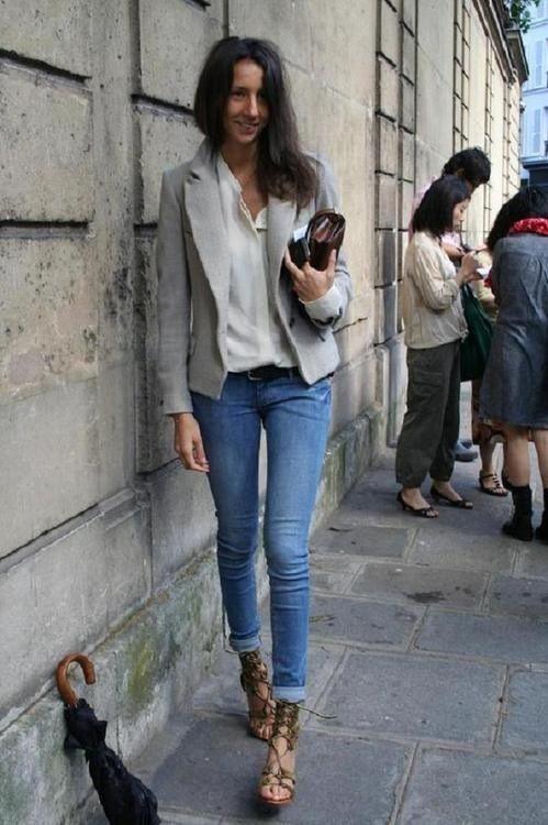 Simplicity Street Style Fashion Inspo Pinterest Blazers Grey Blazers And Skinny