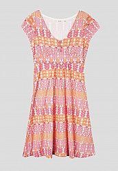 Seasalt Cornwall Pear's Dress - such a pretty and colourful print