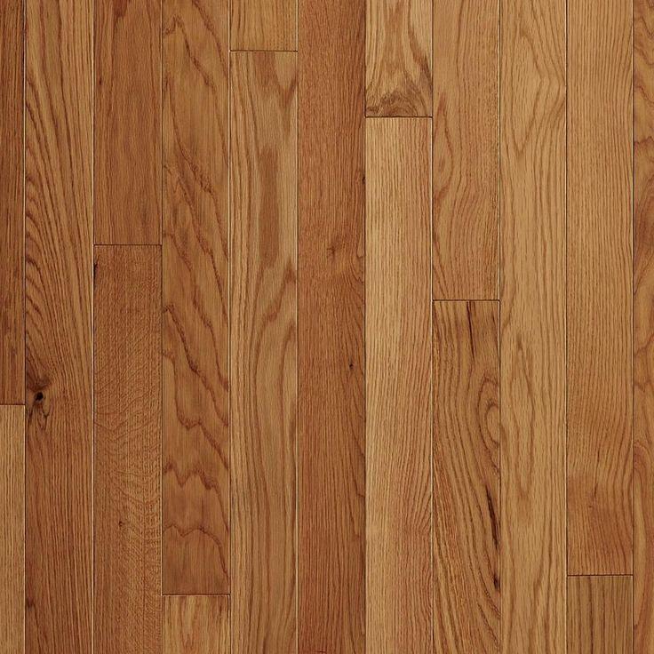Natural White Oak Smooth Solid Hardwood Prefinished