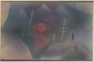 glance of a landscape by klee - Google Search