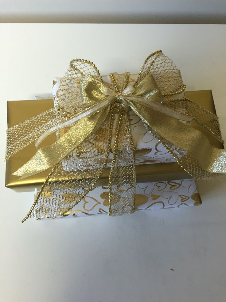 Gold Wedding wrapping