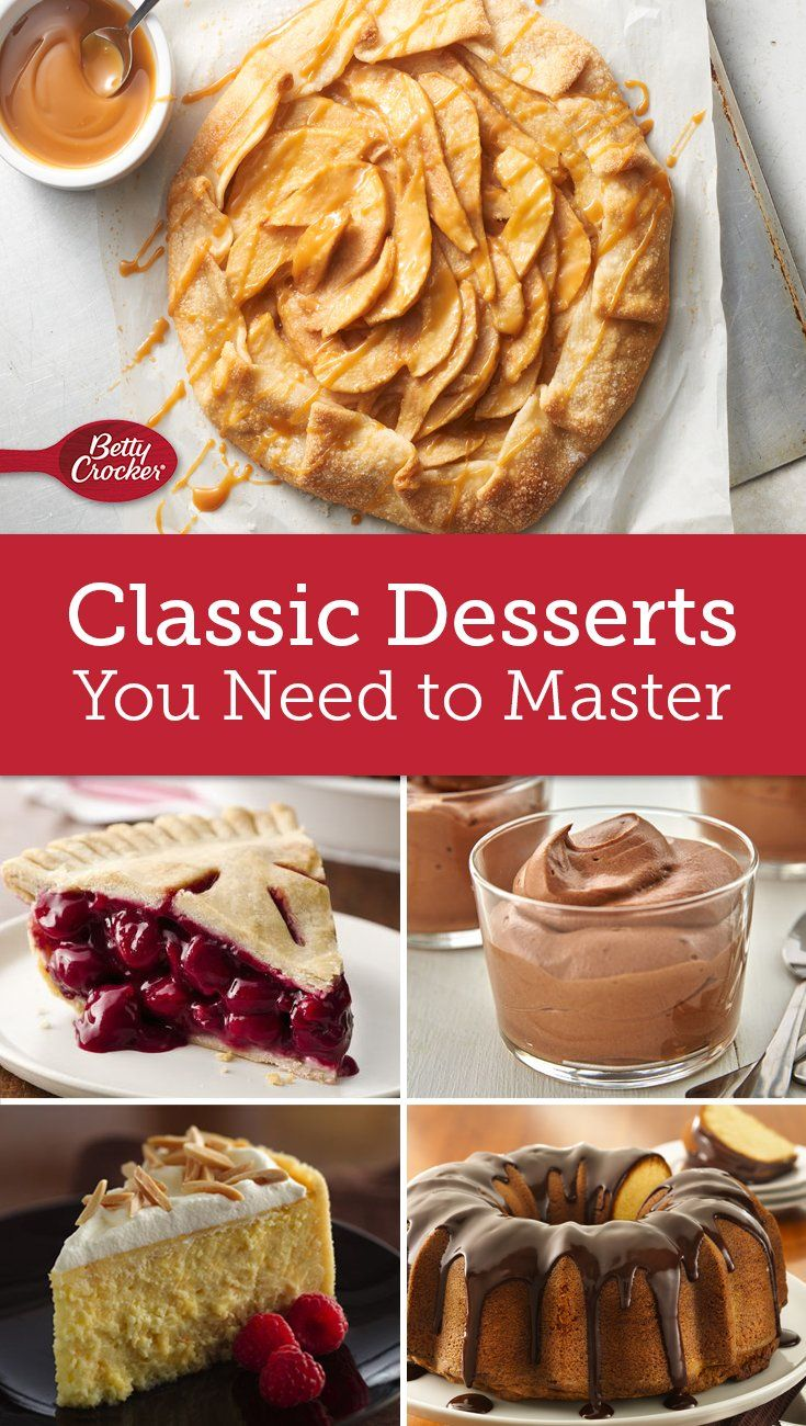 Looking to hone your baking skills? These recipes will get you up to snuff on the classics. From chocolate mousse to New York cheesecake, these recipes are vital for every baker to learn!