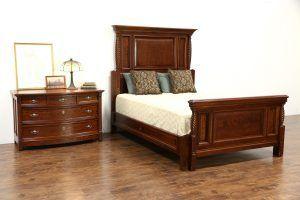 Antique Cherry Bedroom Set #cherrybedroomset | Rustic ...