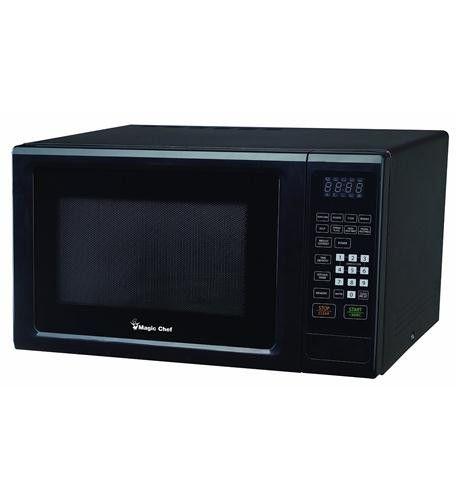 1.1 cf 1000 Watt Microwave BLACK