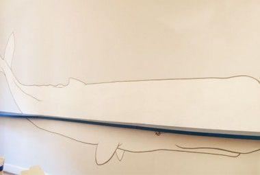 Decorare la parete con un disegno, anche grandissimo! | Artiste per casa