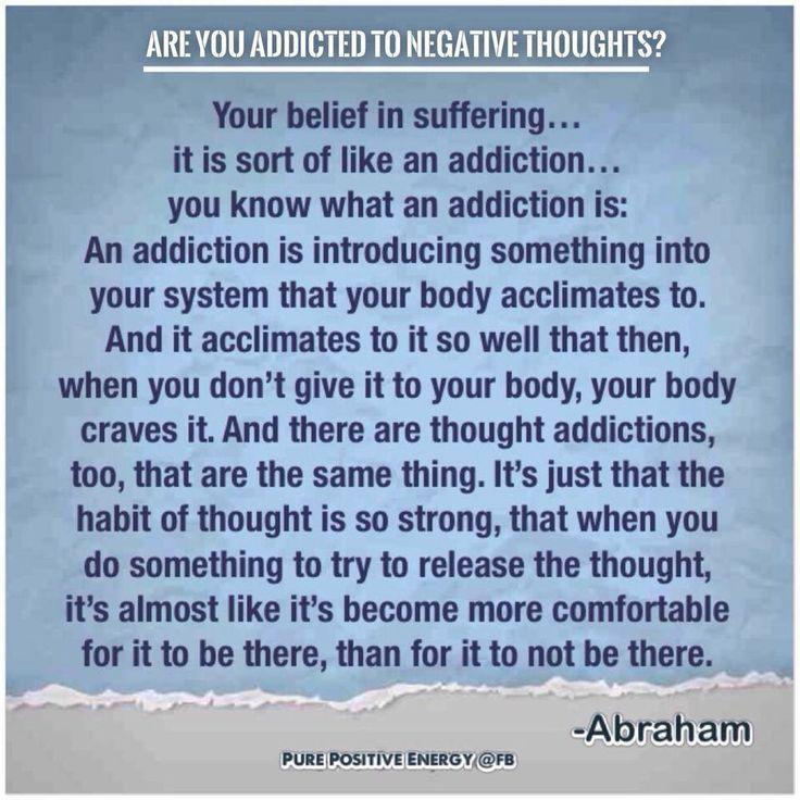 thought addiction
