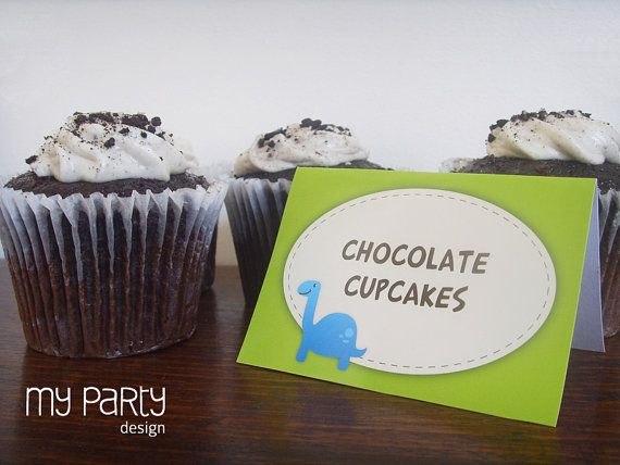 Dinosaur Party  PRINTABLE Full Party Pack by mypartydesign on Etsy, $27.00