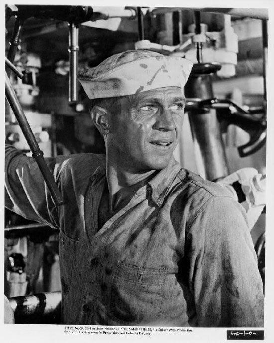 Steve Mccqueen ds La canonnière du Yang-Tsé (Robert Wise 1966)
