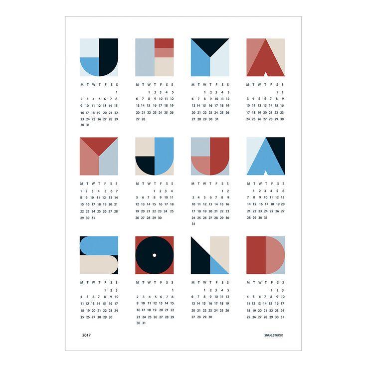 Der Snug.snug - snug.geo Kalender 2017