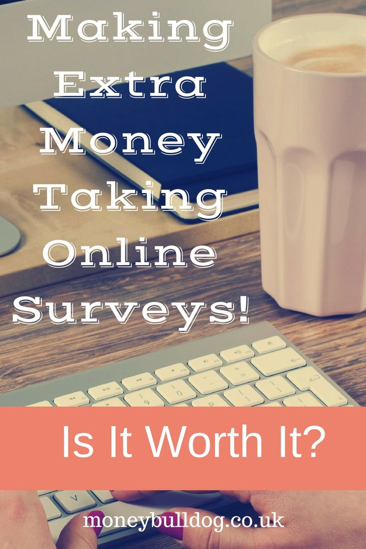 Making Extra Money Taking Online Surveys! Is it Worth it? - See how much money you can make taking surveys online and whether it is worth your time and effort.