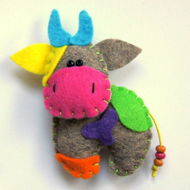 Nietypowa krowa - Biżuteria - DecoBazaar