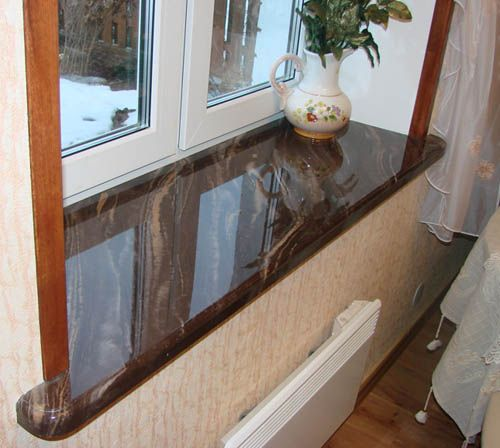 Window Designs Modern Interior Window Sill Materials And