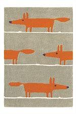 Scion Rug Mr Fox Cinnamon