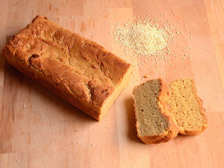Il pane quinoa Bimby è un pane senza glutine. Con farina di quinoa, farina di riso e di soia, è adatto al cestino del pane per celiaci