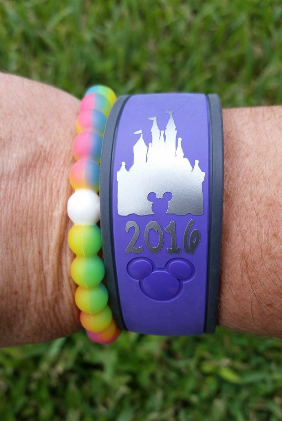 Disney Magic Band Stickers Etsy