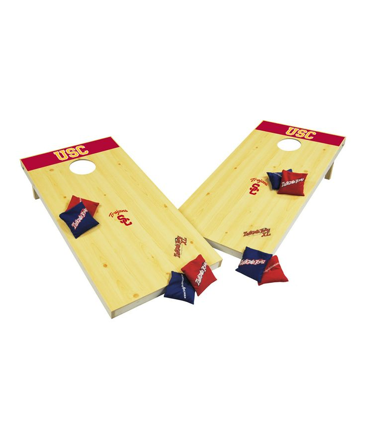 Look at this USC Trojans Tailgate Toss Game on #zulily today!  $124.99