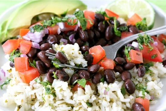 Mexican Rice Bowl Recipe | Healthy Food Ideas! | Pinterest