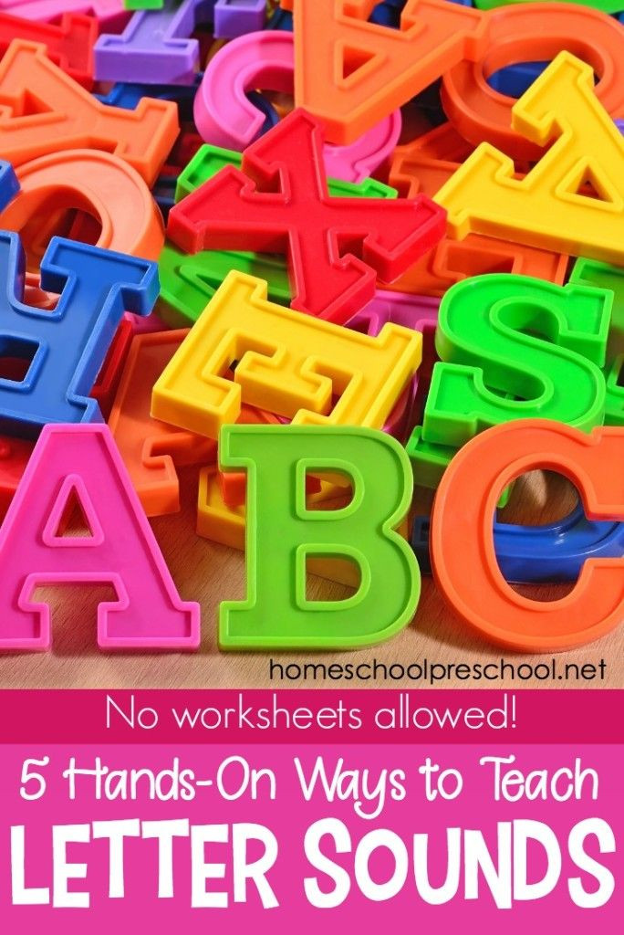 5 Engaging, Hands-On Ideas for Teaching Letter Sounds