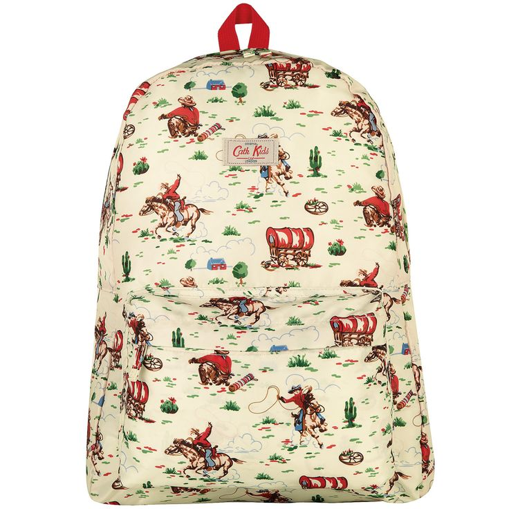 Bags & Wallets   Cowboy Kids Foldaway Backpack   CathKidston