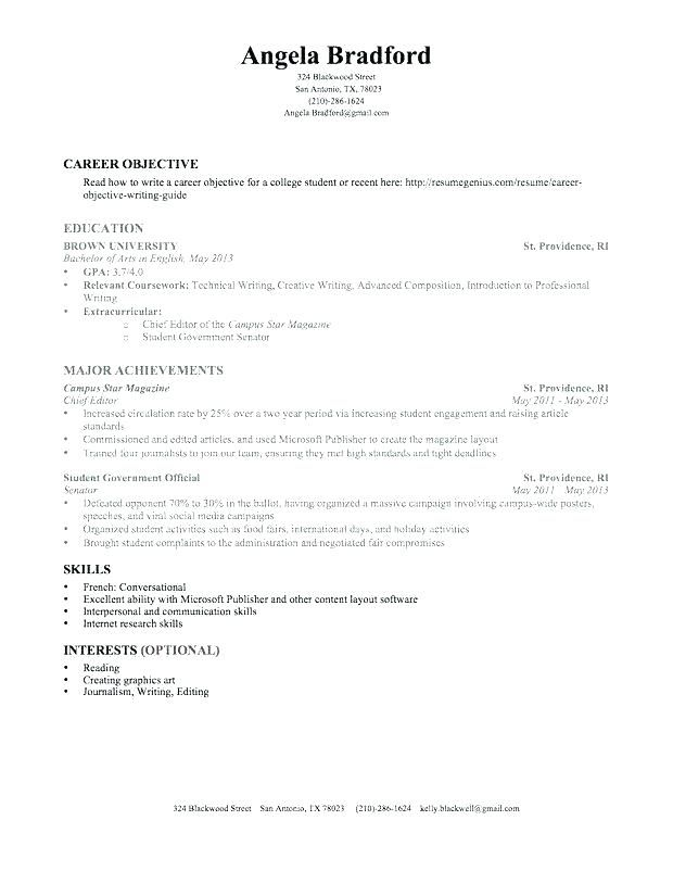 Work Experience Resume Template Student Resume Template Resume Templates Resume