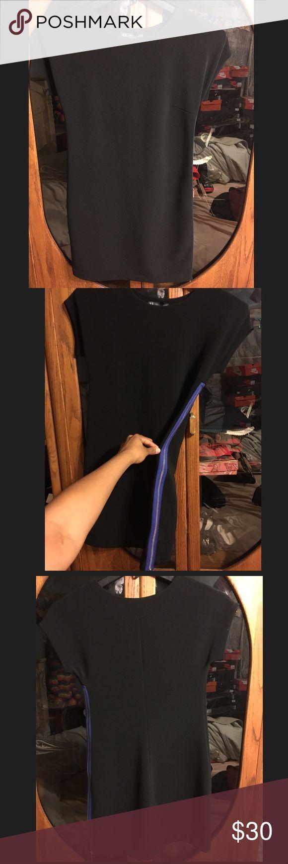 Selling this Brand New Women Armani Exchange Black Dress Size 2 on Poshmark! My username is: kakoukat2. #shopmycloset #poshmark #fashion #shopping #style #forsale #Armani Exchange #Dresses & Skirts