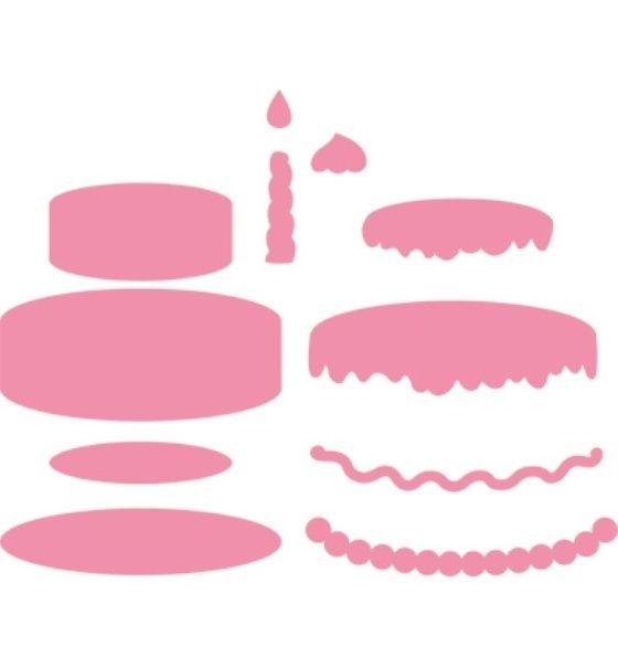 *Torte*Collectables*11 Stanzen*Geburtstagskuchen*Einladung*Glückwunsch*Karten*Scrapbooking*Basteln*