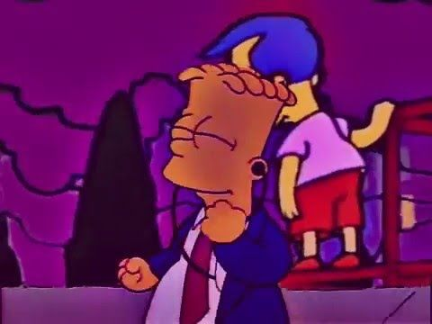 Simpsonwave, Video Remixes Featuring VHS Style Simpsons Clips and Chill Vaporware Music