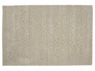 Tappeto rettangolare in lana a motivi geometrici SHAZIA - ROSET ITALIA