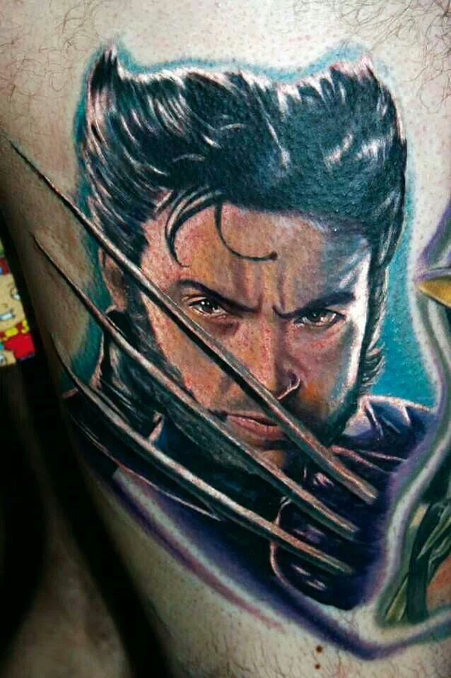 Wolverine by tattoos by halo tattoos pinterest for Tattoos by halo