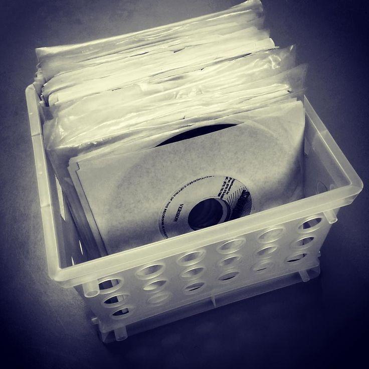 Working on a throwback #mix this morning. #vinyl #crates #45vinyl #45 #portablist #turntablism #beats #lyrics #music #radio #club #street #dj #djlife #vinyl #record #vinyligclub #historyofmusic #lit #reggae #dancehall #soca #dub #rave #dance #podcast #newchatmixtapes by petebodegavinyl http://ift.tt/1HNGVsC