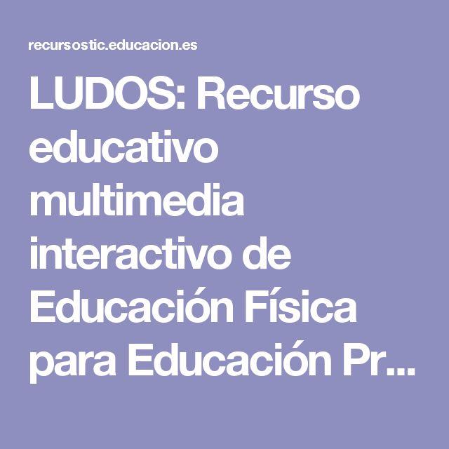 LUDOS: Recurso educativo multimedia interactivo de Educación Física para Educación Primaria