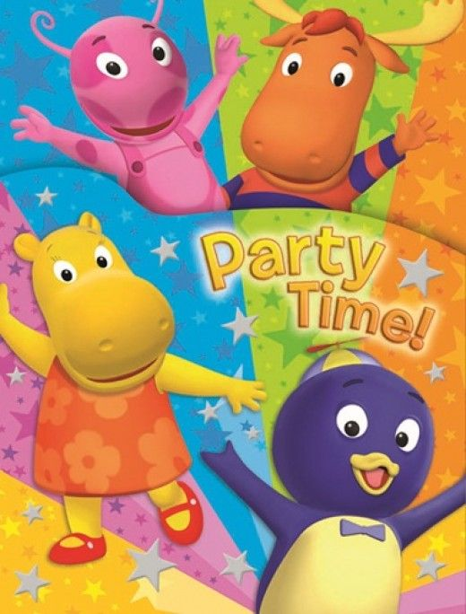 75 best images about backyardigans party on pinterest for Backyardigans party decoration