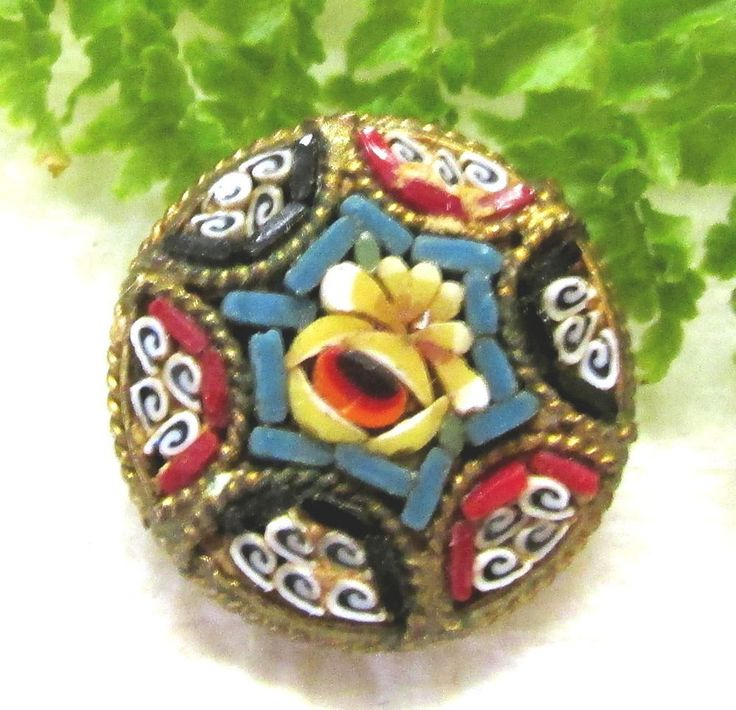 358 Best Images About Micro Mosaic Buttons On Pinterest