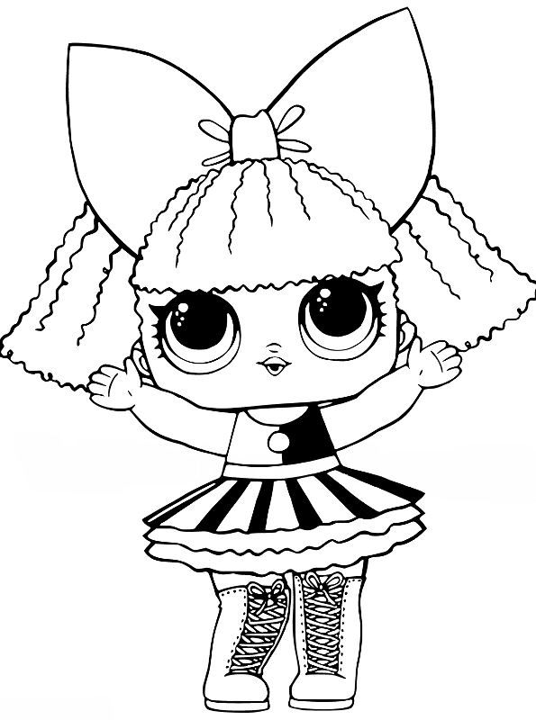 L O L Coloring Pages Lol Surprise Doll Coloring Pages Get Coloring Pages Pages Coloring L O L 199258 In 2020 Lol Dolls Baby Dogs Kids Pages