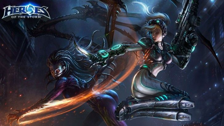 Kerrigan Nova Heroes of the Storm Game Girls High Definition 1920x1080