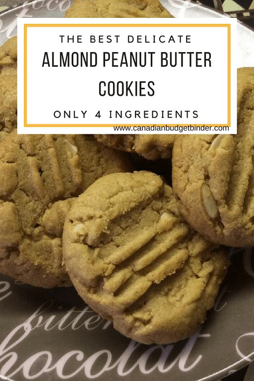 If you've ever wanted the tastes of peanut butter and toasted almonds in one delicious bite I've got you covered with these satiny almond peanut butter cookies. Go Keto by adding a sugar-substitute and they are gluten-free.