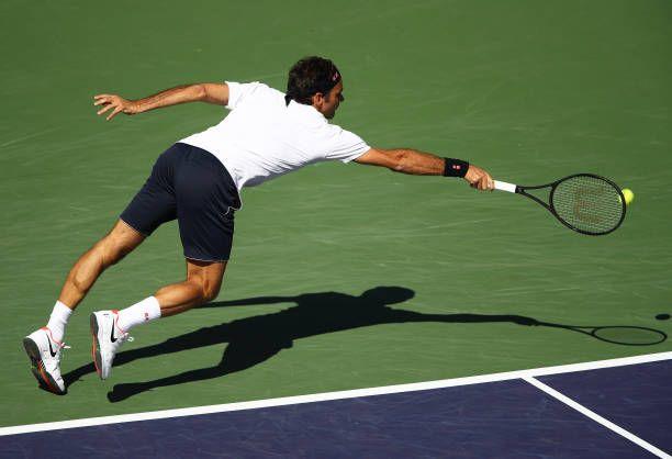 Roger Federer Indian Wells 2019 Forehand Best Tennis Rackets