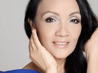 Caridad Canelón, actriz venezolana.