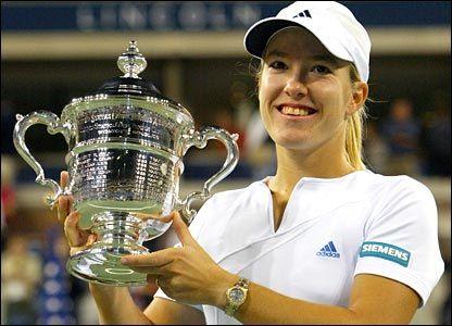 Justine Hénin (BEL) - b. 01/06/1982 - 1,67m. - Ranked 1st during 117 weeks between 2003 & 2008 - Won 7 Grand Slams (1 Australian, 4 Roland-Garros, 2 US Open).